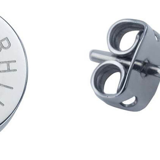 Tommy Hilfiger Ladies Silver Stud Earrings