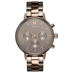 MVMT Ladies Nova Titanium & Rose Gold Plated Watch