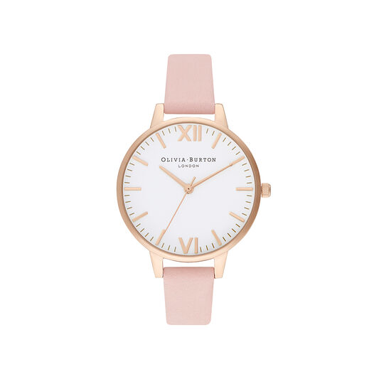 Timeless Dusty Pink & Pale Gold Watch