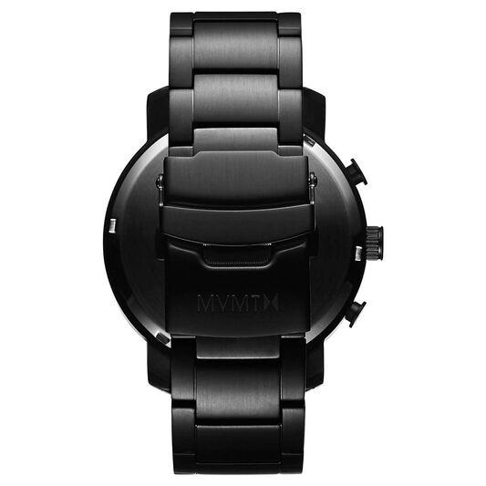 MVMT Men's Chrono Black Plated Watch