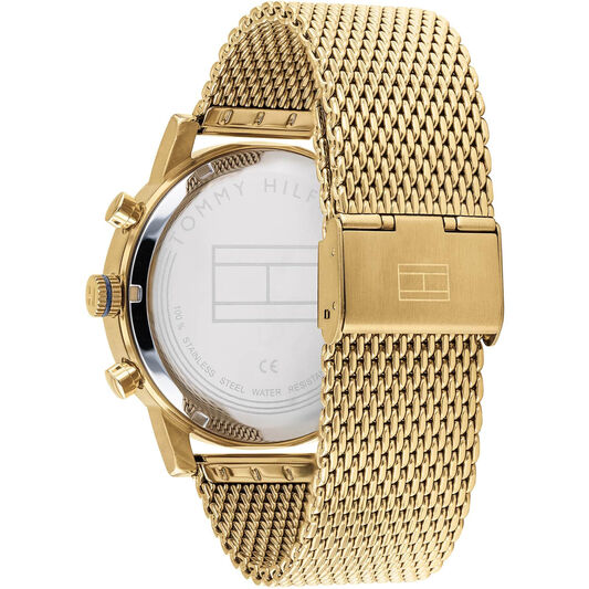Tommy Hilfiger Men's Gold Plated Watch