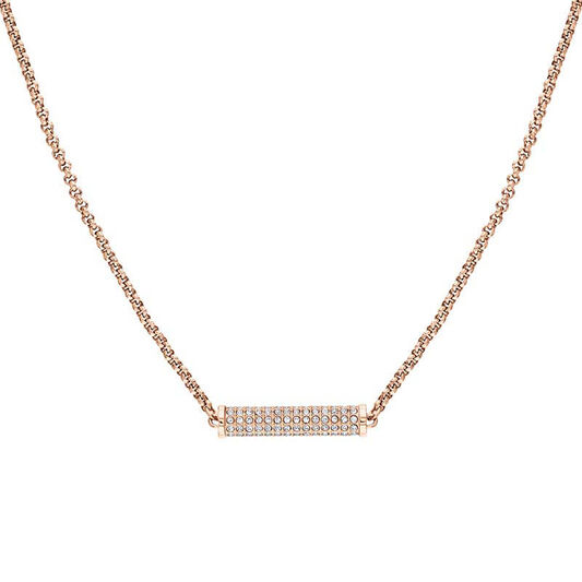 Tommy Hilfiger Ladies Carnation Gold Chain Necklace