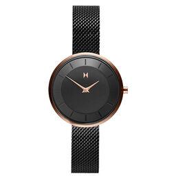 MVMT Ladies Mod Black Plated Watch