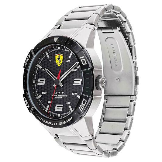 Scuderia Ferrari Men's Apex Stainless Steel Watch