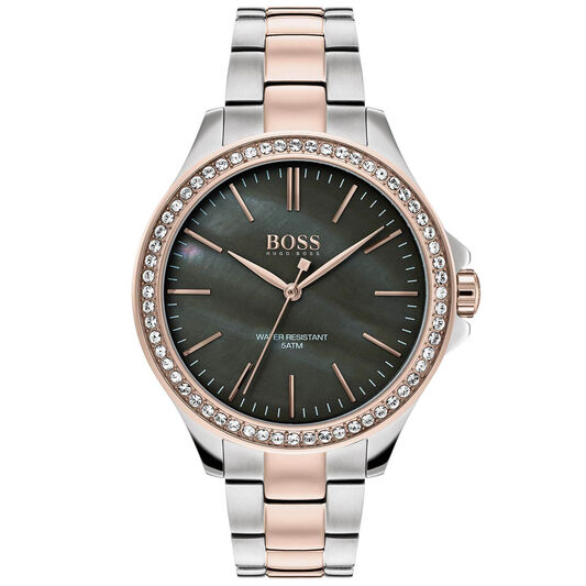 BOSS Ladies Victoria Two Tone Stainless Steel Watch
