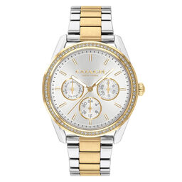 Coach Ladies Preston Two Tone Stainless Steel Watch