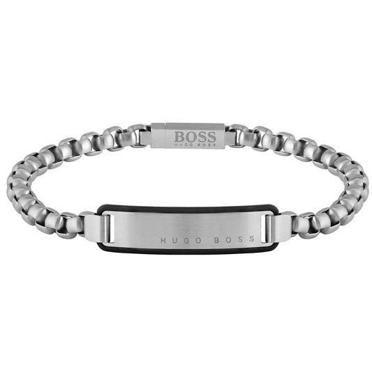 BOSS Men's ID Stainless Steel Bracelet