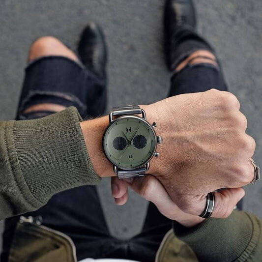 MVMT Men's Blacktop Gunmetal Watch