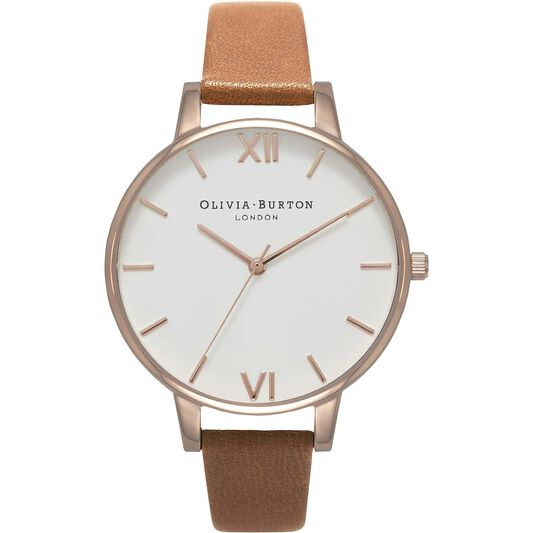 Olivia Burton Ladies White Dial White Watch