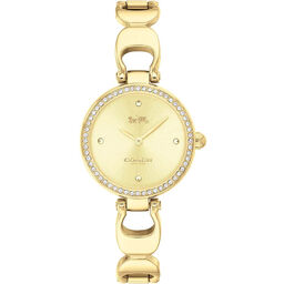 Coach Ladies Park Gold Plated Watch