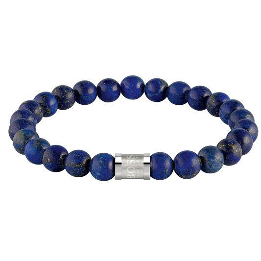BOSS Men's Beads For Him Blue Lapis Bracelet