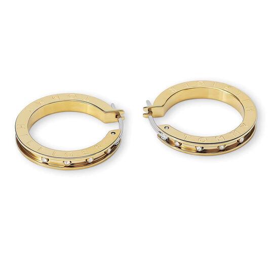 Tommy Hilfiger Ladies Gold Crystal Earrings