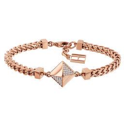 Tommy Hilfiger Ladies Small Box Chain Bracelet