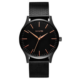 MVMT Men's 40 Series Black Plated Watch