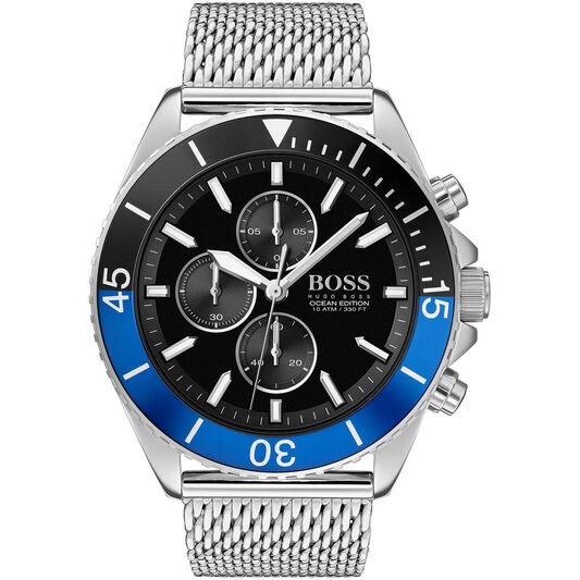 BOSS Men's Ocean Edition Stainless Steel Watch
