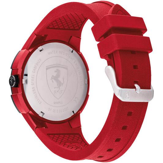 Scuderia Ferrari Men's Apex Red Silicone Watch
