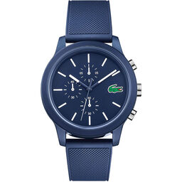 Lacoste Men's Lacoste.12.12 Blue Silicone Watch
