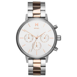 MVMT Ladies Nova Two Tone Stainless Steel Watch