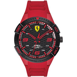 Scuderia Ferrari Men's Apex Red Silicone Watch