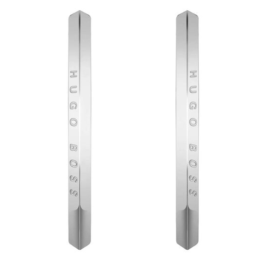 BOSS Ladies Insignia Stainless Steel Earrings