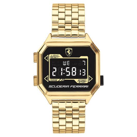 Scuderia Ferrari Men's Digidrive Gold Plated Watch
