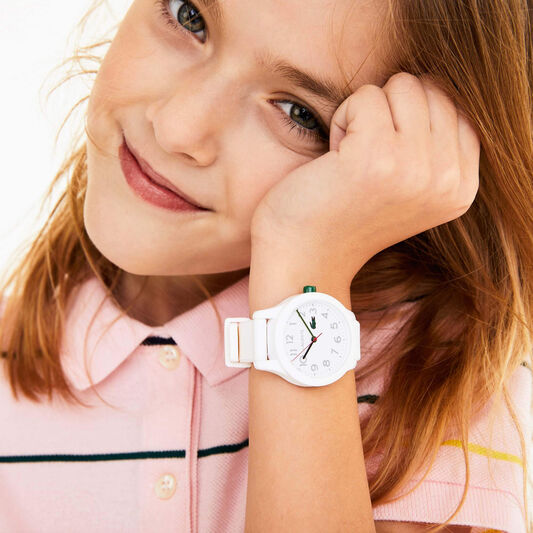 Lacoste Kids Lacoste.12.12 White Silicone Watch