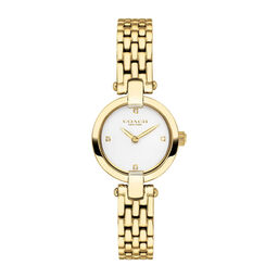 Coach Ladies Chrystie Gold Plated Watch
