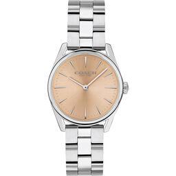 Coach Ladies Modern Luxury Stainless Steel Watch
