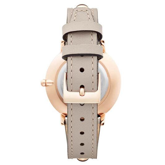 Rebecca Minkoff Ladies Major Jute Leather Watch