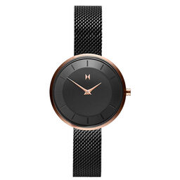 MVMT Ladies Mod Black Plated Watch