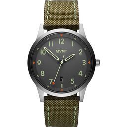 MVMT Men's Field Green Canvas Watch