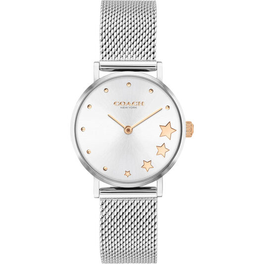 Coach Ladies Perry Stainless Steel Watch