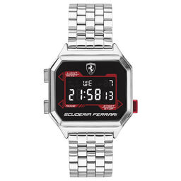 Scuderia Ferrari Men's Digidrive Stainless Steel Watch