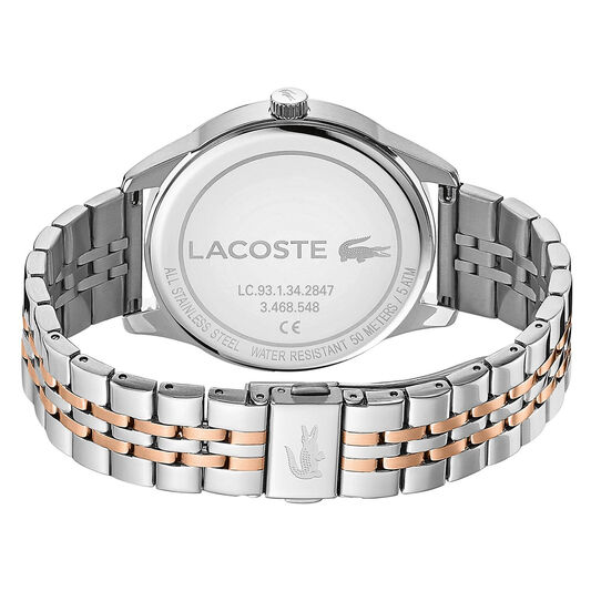 Lacoste Men's Vienna Two Tone Stainless Steel Watch