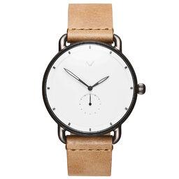 MVMT Men's Revolver Caramel Leather Watch