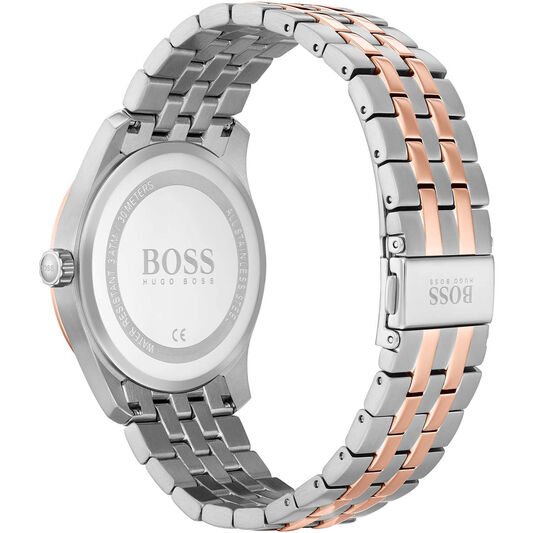 BOSS Men's Master Two Tone Stainless Steel Watch