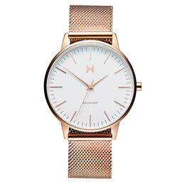 MVMT Ladies Boulevard Rose Gold Plated Watch