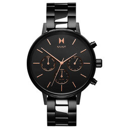 MVMT Ladies Nova Black Plated Watch