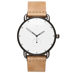 MVMT Men's Revolver Caramel Leather Watch