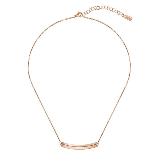 BOSS Ladies Insignia Carnation Gold Necklace