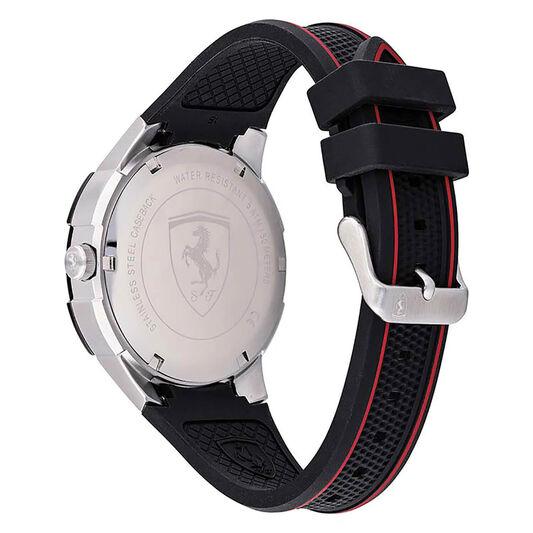 Scuderia Ferrari Men's Apex Black Silicone Watch