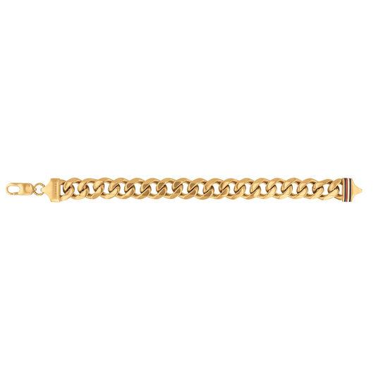 Tommy Hilfiger Men's Gold Plated Chain Bracelet