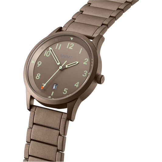 MVMT Men's Field Taupe Plated Watch