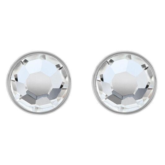 Tommy Hilfiger Ladies Crystal Stud Earrings