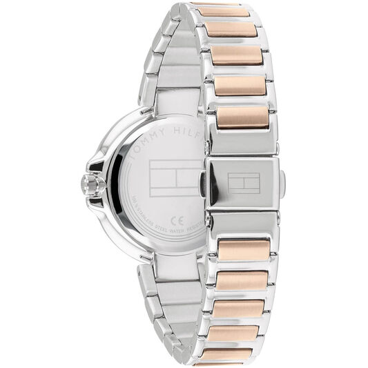 Tommy Hilfiger Ladies Two Tone Stainless Steel Watch