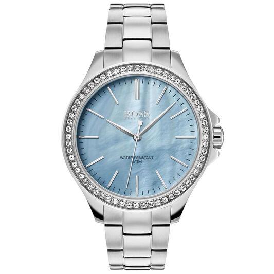 BOSS Ladies Victoria Stainless Steel Watch