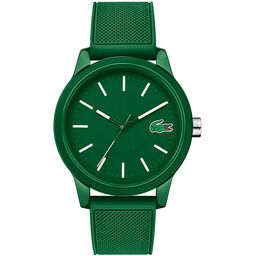 Lacoste Men's Lacoste.12.12 Green Silicone Watch