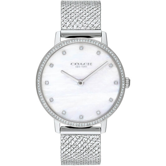 Coach Ladies Audrey Stainless Steel Watch