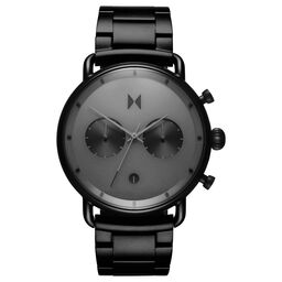 MVMT Men's Blacktop Black Plated Watch