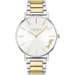 Coach Ladies Perry Two Tone Stainless Steel Watch